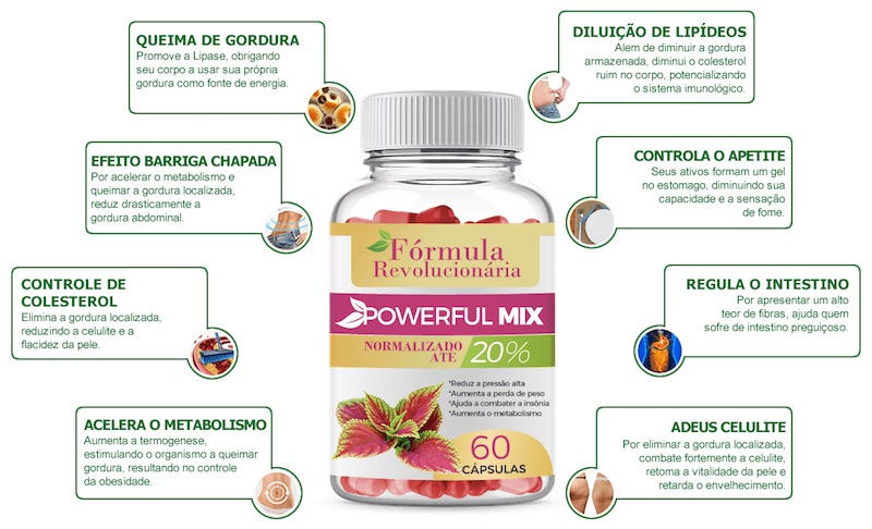 powerful mix beneficios